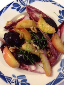 beetroot and maple apple salad